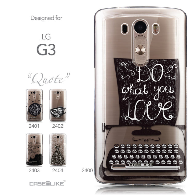 Collection - CASEiLIKE LG G3 back cover Quote 2400