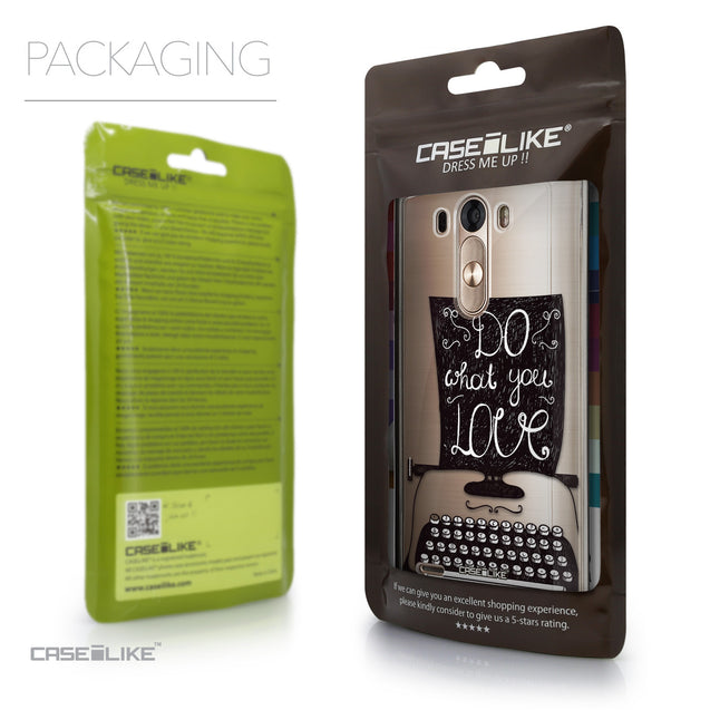 Packaging - CASEiLIKE LG G3 back cover Quote 2400