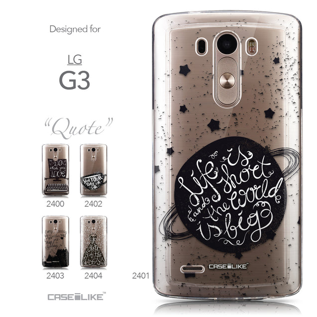 Collection - CASEiLIKE LG G3 back cover Quote 2401