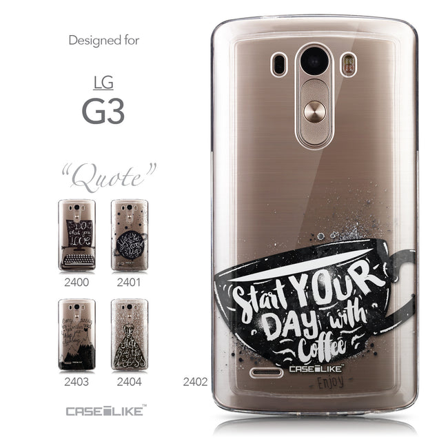 Collection - CASEiLIKE LG G3 back cover Quote 2402