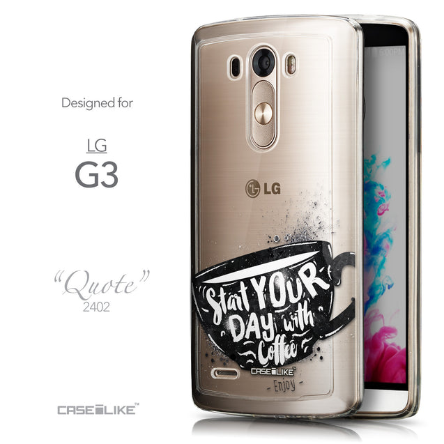 Front & Side View - CASEiLIKE LG G3 back cover Quote 2402