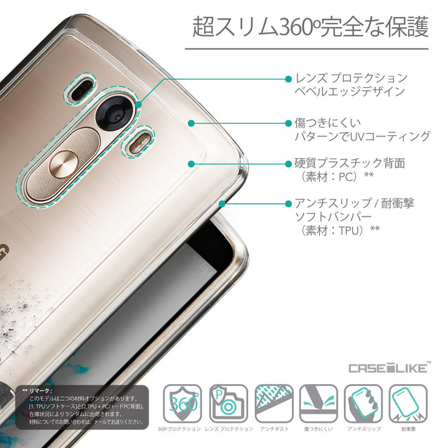 Details in Japanese - CASEiLIKE LG G3 back cover Quote 2402