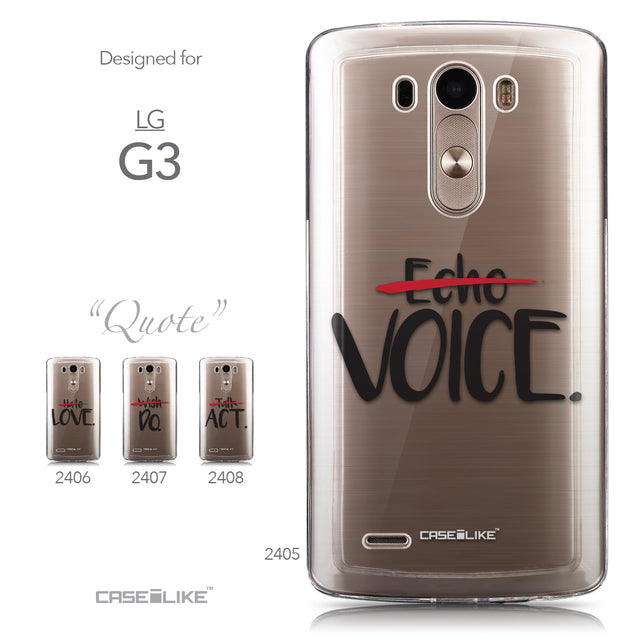 Collection - CASEiLIKE LG G3 back cover Quote 2405