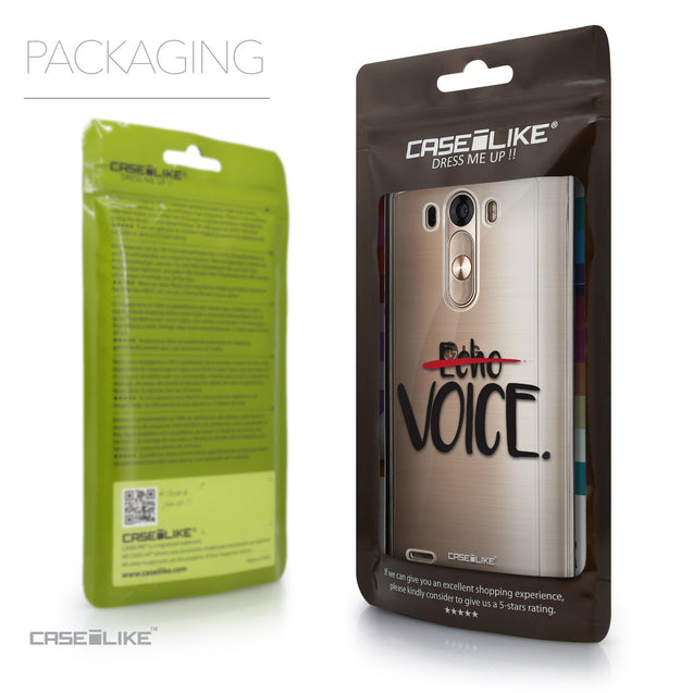 Packaging - CASEiLIKE LG G3 back cover Quote 2405