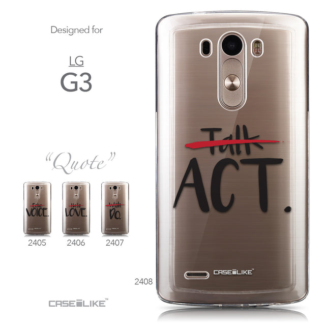 Collection - CASEiLIKE LG G3 back cover Quote 2408