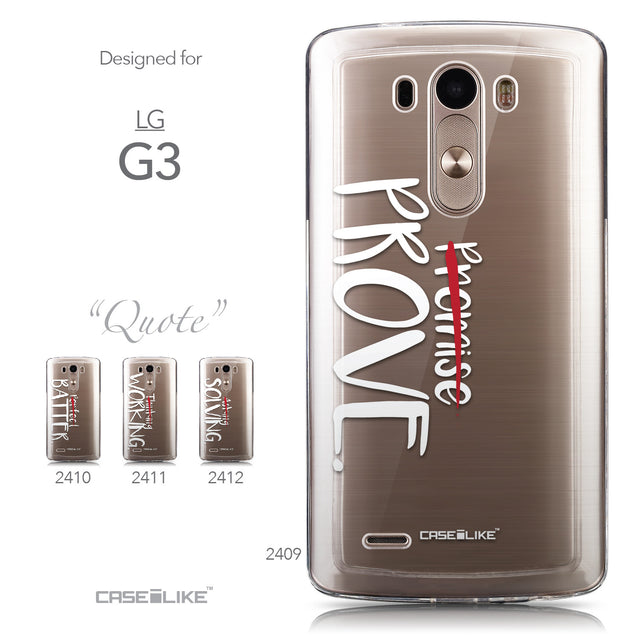 Collection - CASEiLIKE LG G3 back cover Quote 2409