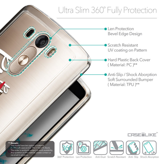 Details in English - CASEiLIKE LG G3 back cover Quote 2409