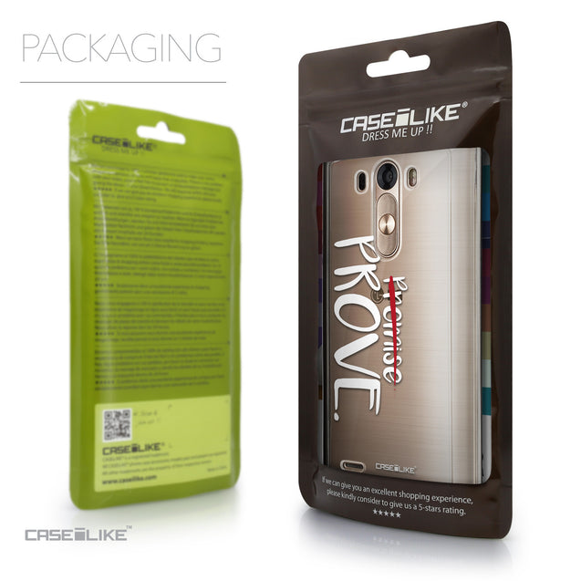 Packaging - CASEiLIKE LG G3 back cover Quote 2409