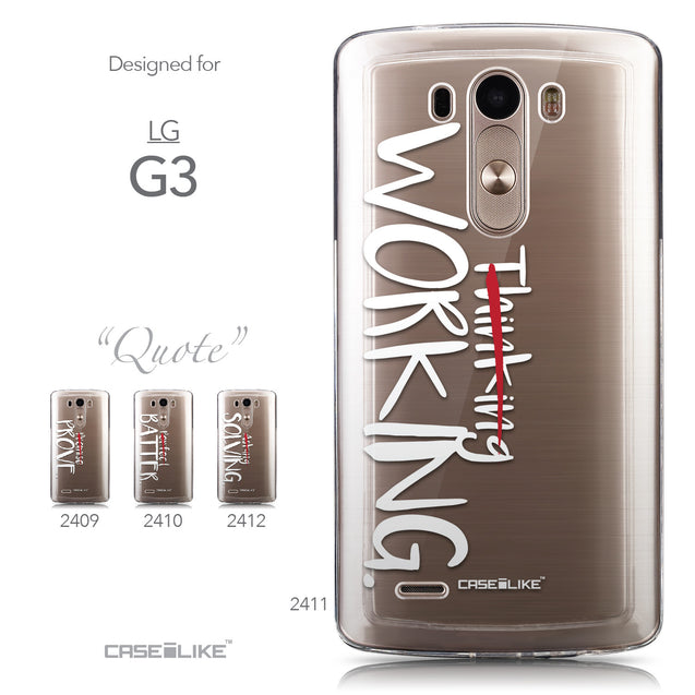 Collection - CASEiLIKE LG G3 back cover Quote 2411