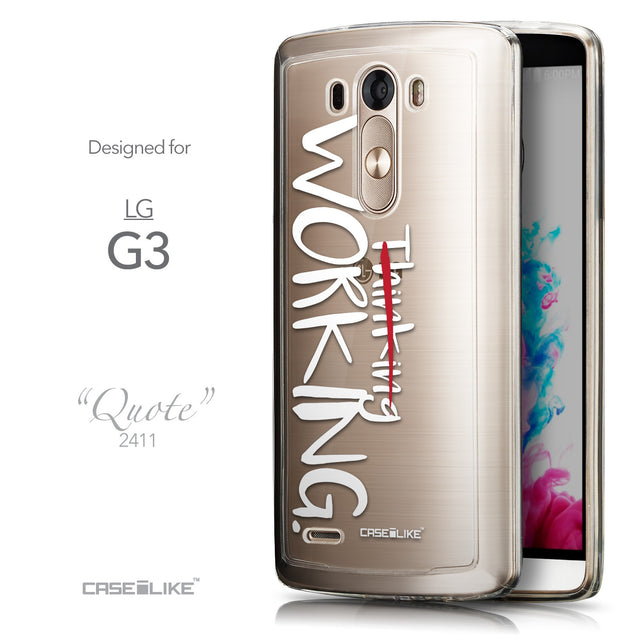 Front & Side View - CASEiLIKE LG G3 back cover Quote 2411