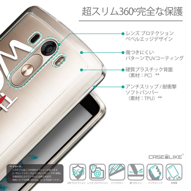 Details in Japanese - CASEiLIKE LG G3 back cover Quote 2411