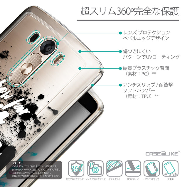 Details in Japanese - CASEiLIKE LG G3 back cover Quote 2413