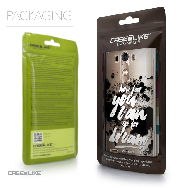 Packaging - CASEiLIKE LG G3 back cover Quote 2413