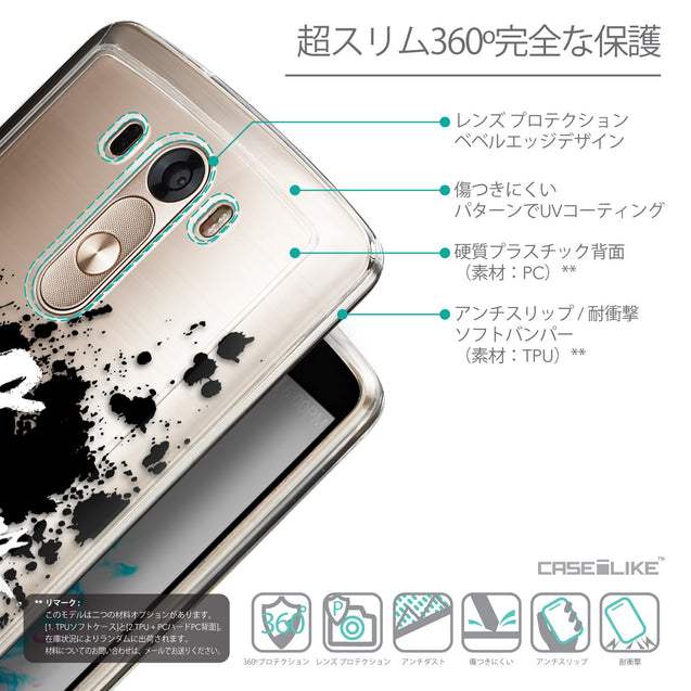 Details in Japanese - CASEiLIKE LG G3 back cover Quote 2415