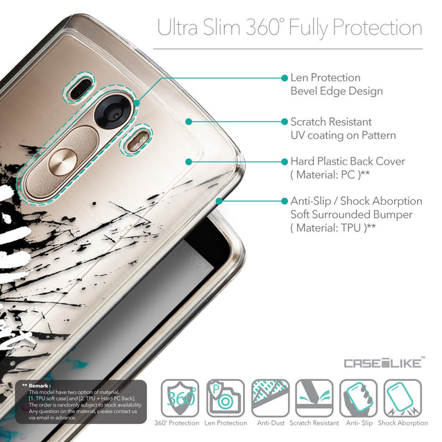 Details in English - CASEiLIKE LG G3 back cover Quote 2416