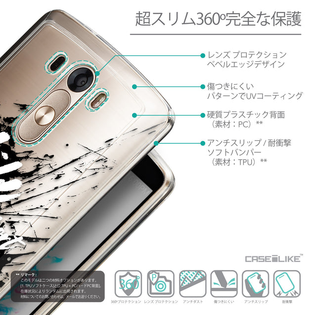 Details in Japanese - CASEiLIKE LG G3 back cover Quote 2416