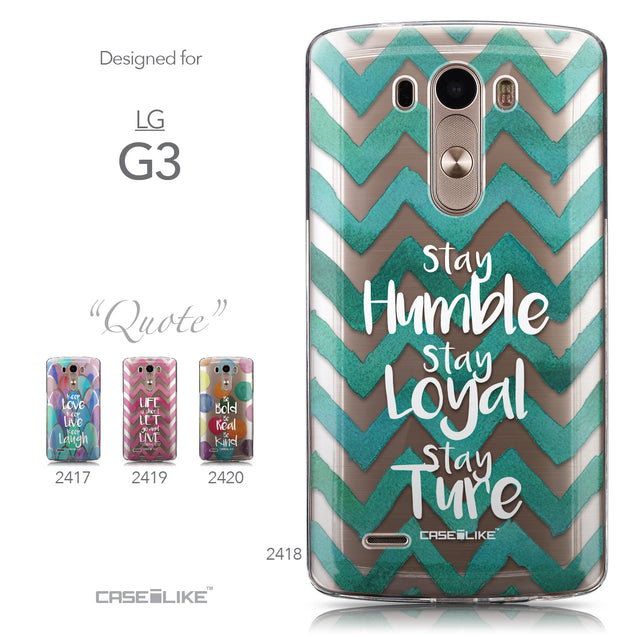 Collection - CASEiLIKE LG G3 back cover Quote 2418