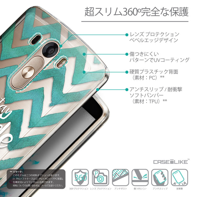 Details in Japanese - CASEiLIKE LG G3 back cover Quote 2418