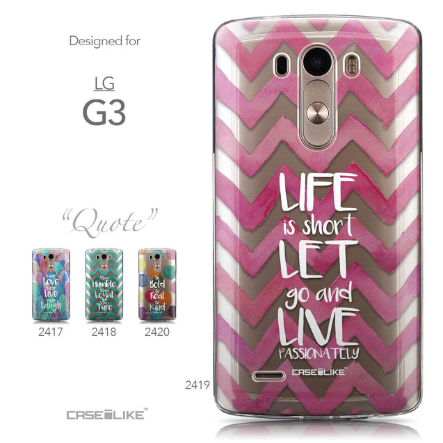 Collection - CASEiLIKE LG G3 back cover Quote 2419