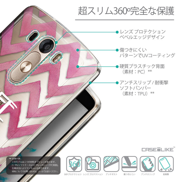 Details in Japanese - CASEiLIKE LG G3 back cover Quote 2419