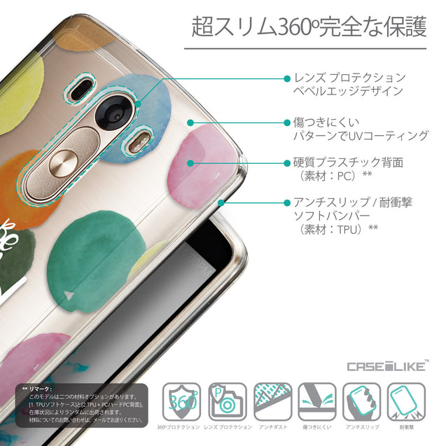 Details in Japanese - CASEiLIKE LG G3 back cover Quote 2420