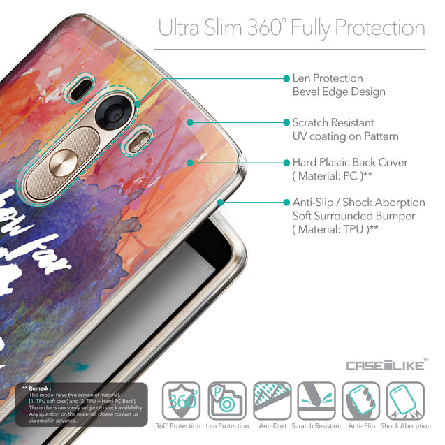 Details in English - CASEiLIKE LG G3 back cover Quote 2421