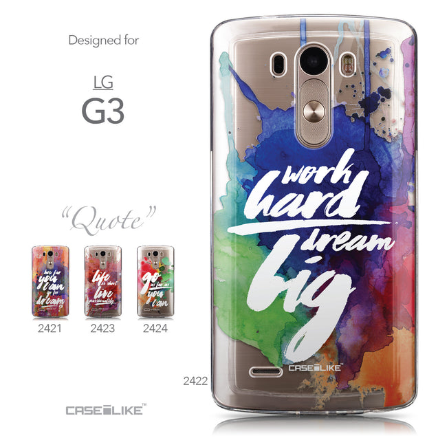 Collection - CASEiLIKE LG G3 back cover Quote 2422