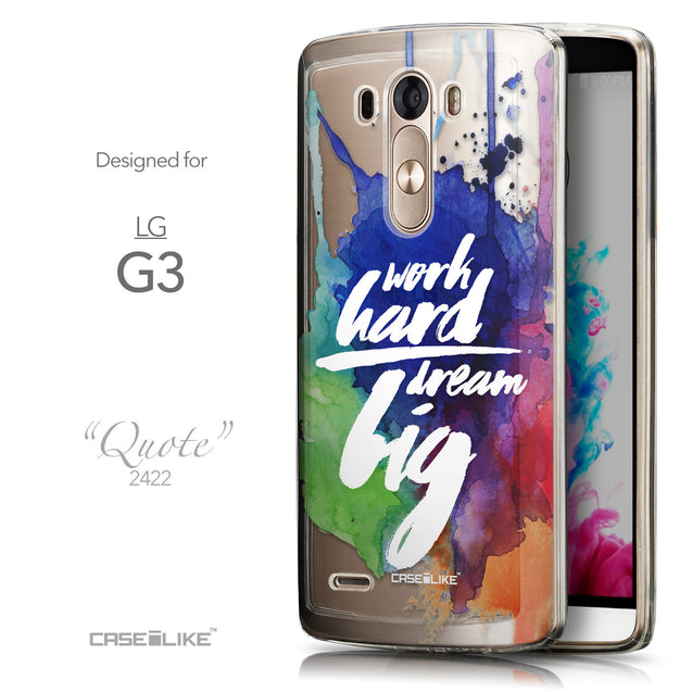 Front & Side View - CASEiLIKE LG G3 back cover Quote 2422