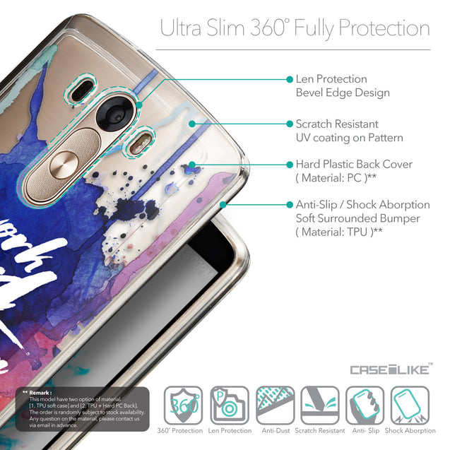 Details in English - CASEiLIKE LG G3 back cover Quote 2422