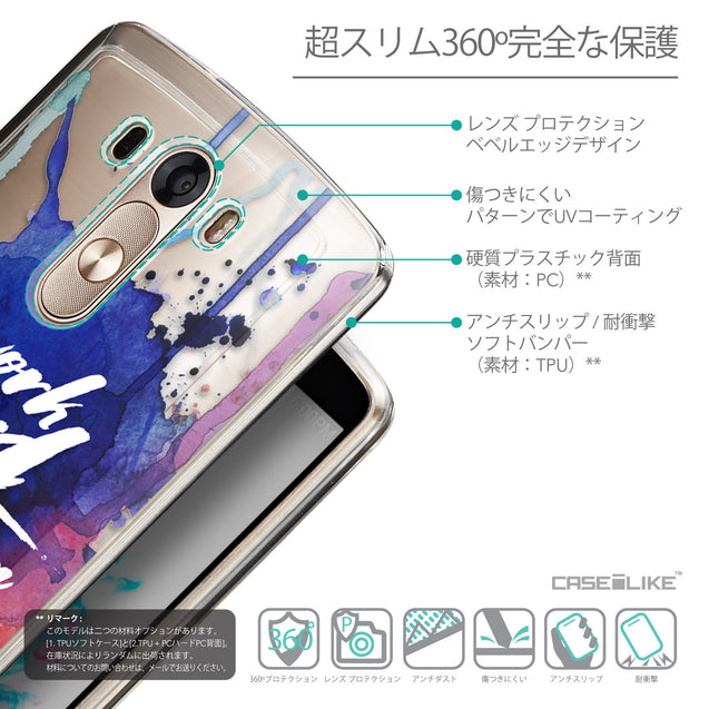 Details in Japanese - CASEiLIKE LG G3 back cover Quote 2422