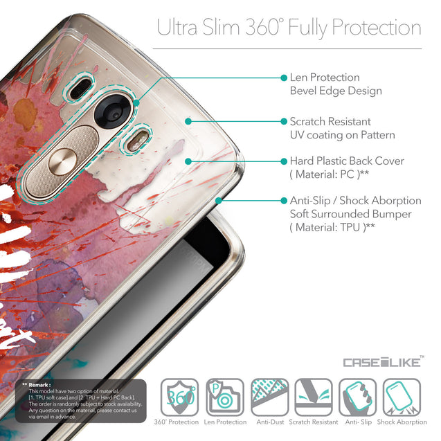 Details in English - CASEiLIKE LG G3 back cover Quote 2423