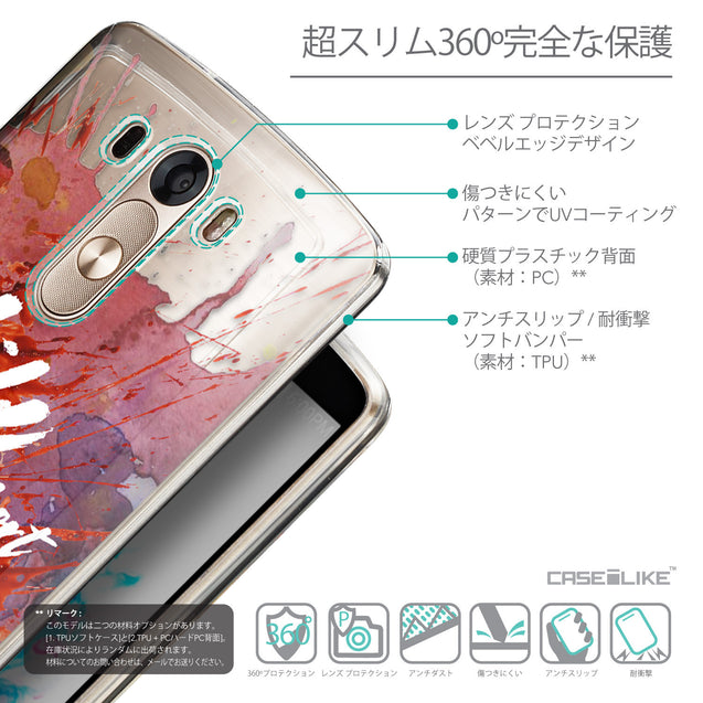 Details in Japanese - CASEiLIKE LG G3 back cover Quote 2423