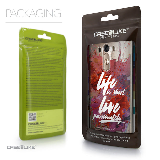 Packaging - CASEiLIKE LG G3 back cover Quote 2423