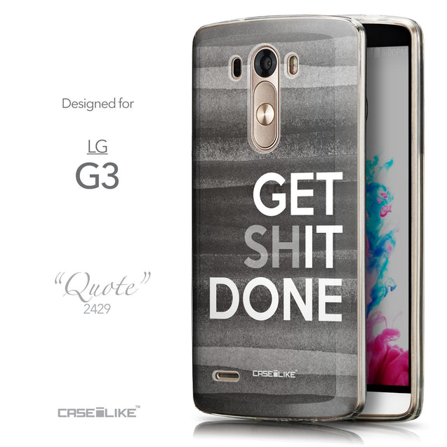 Front & Side View - CASEiLIKE LG G3 back cover Quote 2429