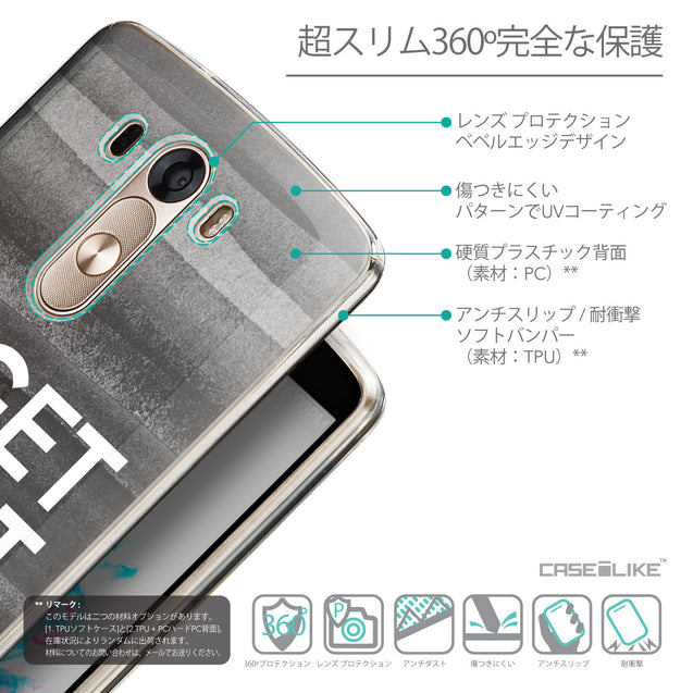Details in Japanese - CASEiLIKE LG G3 back cover Quote 2429