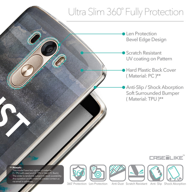 Details in English - CASEiLIKE LG G3 back cover Quote 2430