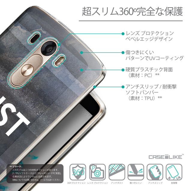 Details in Japanese - CASEiLIKE LG G3 back cover Quote 2430
