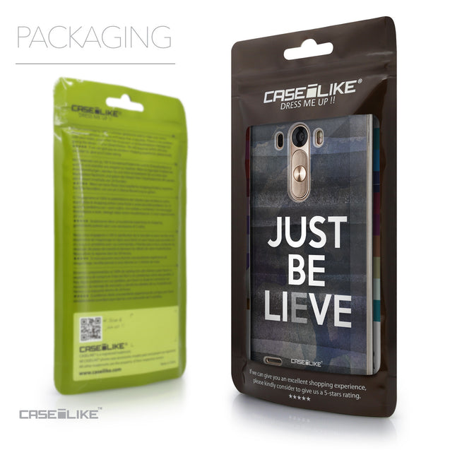 Packaging - CASEiLIKE LG G3 back cover Quote 2430