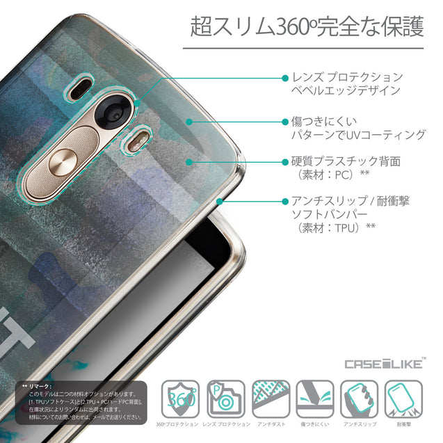 Details in Japanese - CASEiLIKE LG G3 back cover Quote 2431