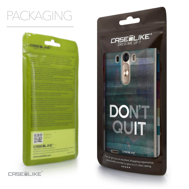 Packaging - CASEiLIKE LG G3 back cover Quote 2431