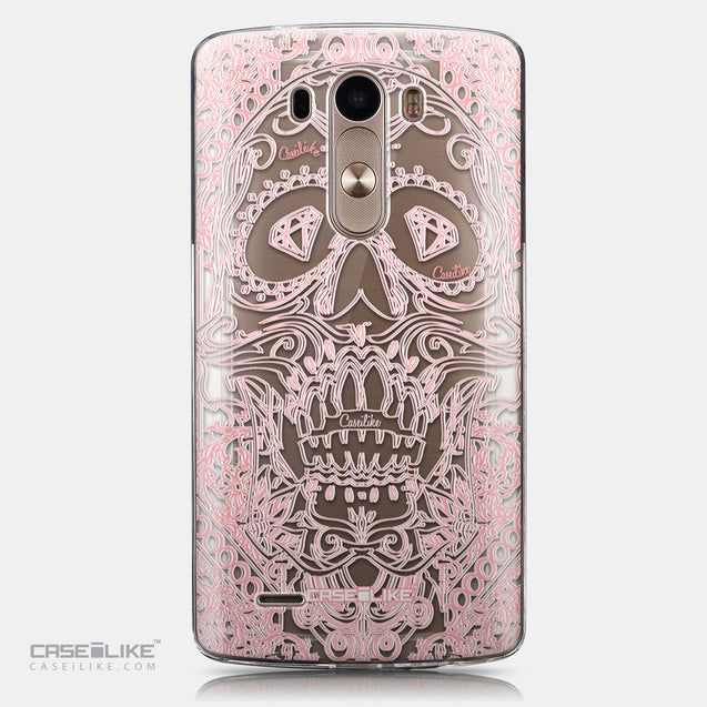 CASEiLIKE LG G3 back cover Art of Skull 2525