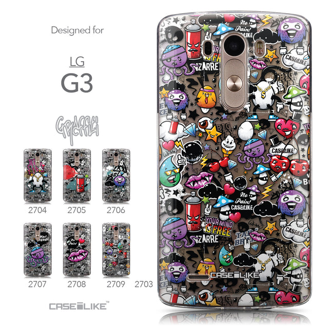 Collection - CASEiLIKE LG G3 back cover Graffiti 2703