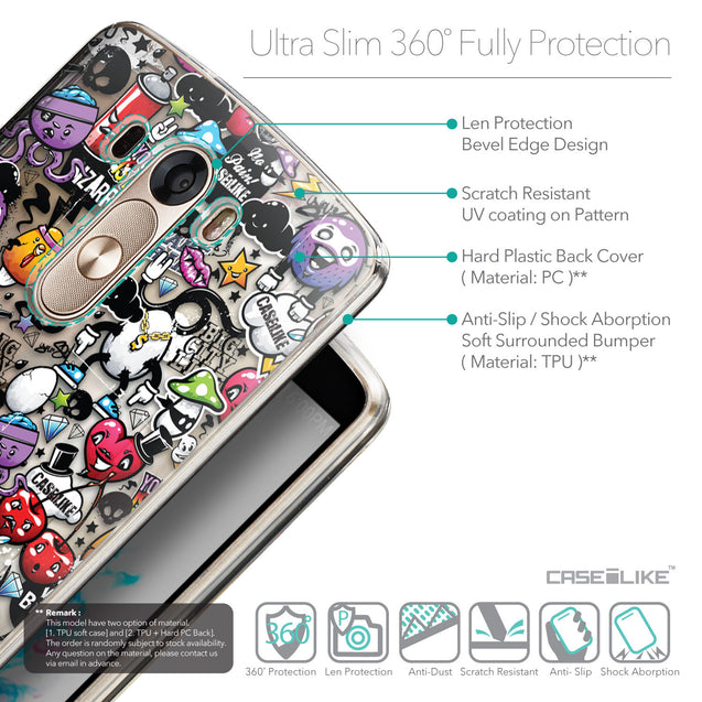 Details in English - CASEiLIKE LG G3 back cover Graffiti 2703