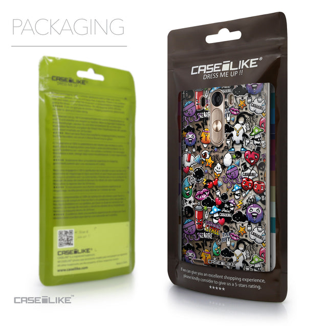 Packaging - CASEiLIKE LG G3 back cover Graffiti 2703