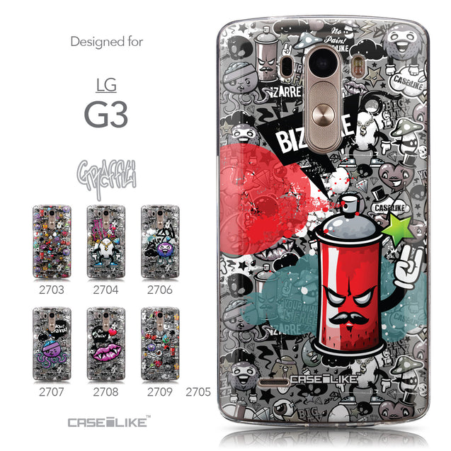 Collection - CASEiLIKE LG G3 back cover Graffiti 2705