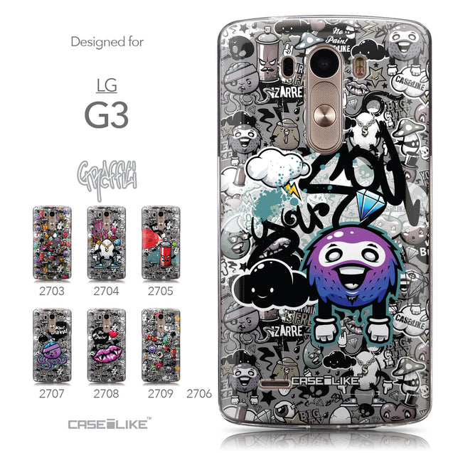 Collection - CASEiLIKE LG G3 back cover Graffiti 2706