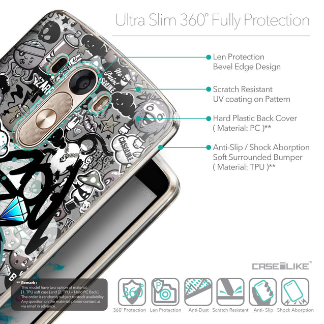 Details in English - CASEiLIKE LG G3 back cover Graffiti 2706