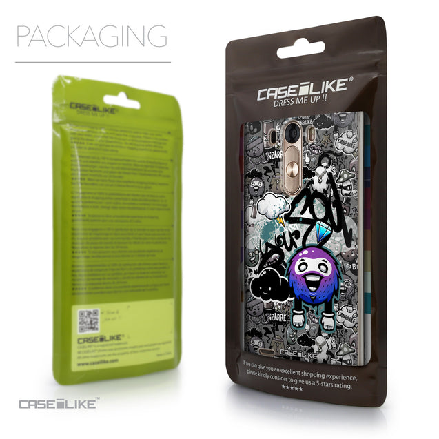 Packaging - CASEiLIKE LG G3 back cover Graffiti 2706