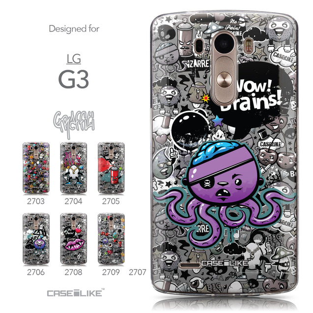 Collection - CASEiLIKE LG G3 back cover Graffiti 2707