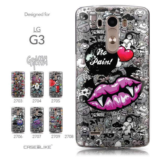 Collection - CASEiLIKE LG G3 back cover Graffiti 2708